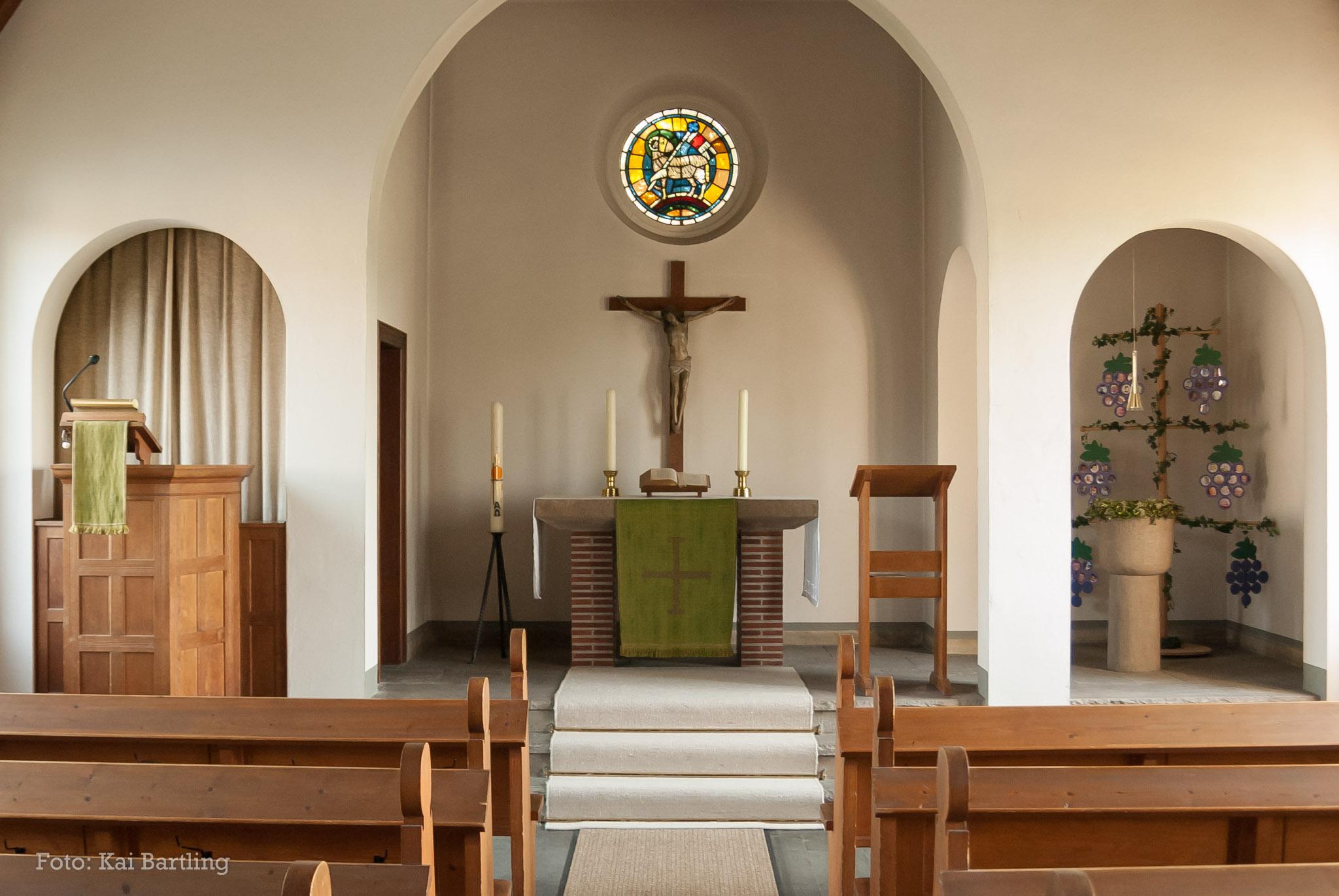 Adventskapelle Altarraum
